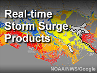 Real-time Storm Surge Products
