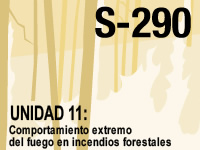 S-290 Unidad 11: Comportamiento extremo del fuego en incendios forestales