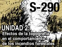 S-290 Unidad 2: Efectos topográficos en el comportamiento de los incendios forestales