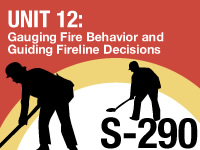 S-290 Unit 12: Gauging Fire Behavior and Guiding Fireline Decisions