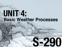 S-290 Unit 4: Basic Weather Processes