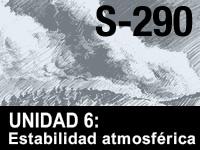 S-290 Unidad 6: Estabilidad atmosférica