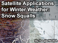 Satellite Applications for Winter Weather: Snow Squalls