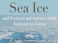 Sea Ice and Products and Services of the National Ice Center