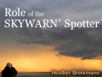 Role of the Skywarn Spotter