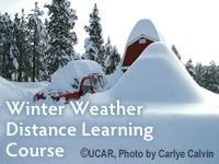 Winter Weather Distance Learning Course