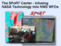 The SPoRT Center - Infusing NASA Technology Into NWS WFO