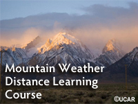 Mountain Weather Distance Learning Course