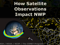 How Satellite Observations Impact NWP