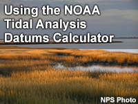 Using the NOAA Tidal Analysis Datums Calculator