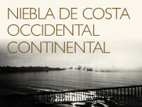 Niebla de costa occidental continental