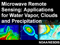 Microwave Remote Sensing: Applications for Water Vapor, Clouds and Precipitation